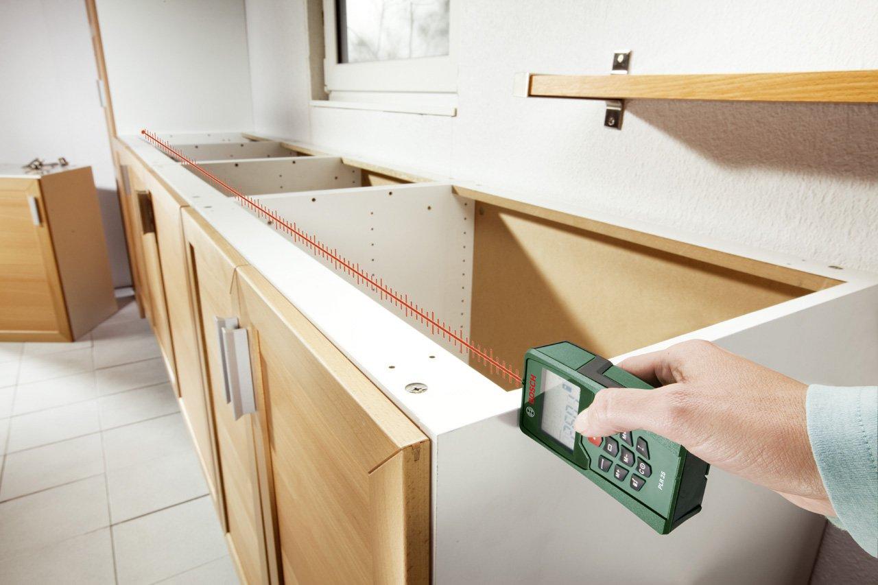 Bosch Entfernungsmesser Plr 25 : Bosch laser entfernungsmesser plr 25 schutztasche 0 05 m