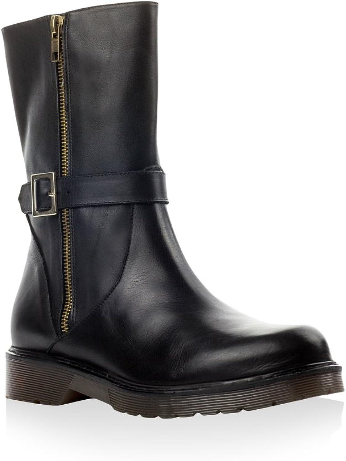 antonio miro bottes cuir noir