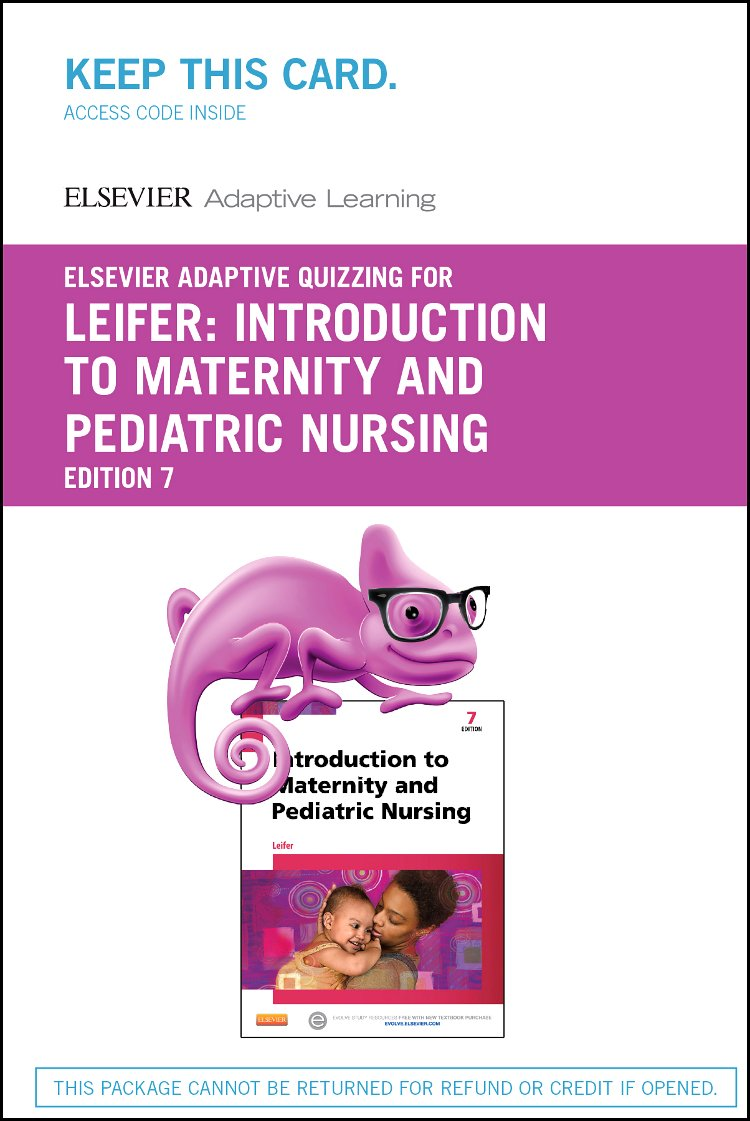 Elsevier Adaptive Learning for Introduction to Maternity