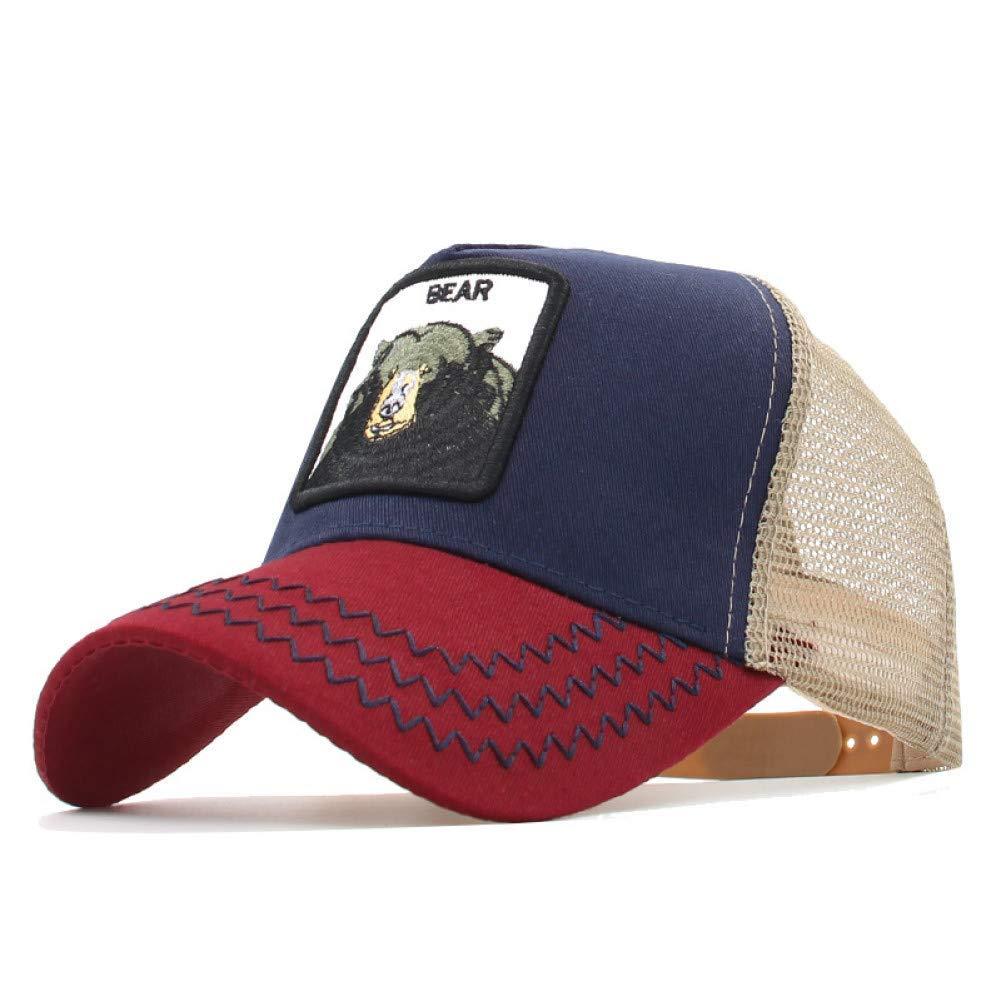 36 Outdoor Sports hat Baseball Cap Animals Embroidery Baseball Caps Men Women Bone European Fashion Mesh Sun Hat Hip Hop Cap Unisex Outdoor GrljdHat