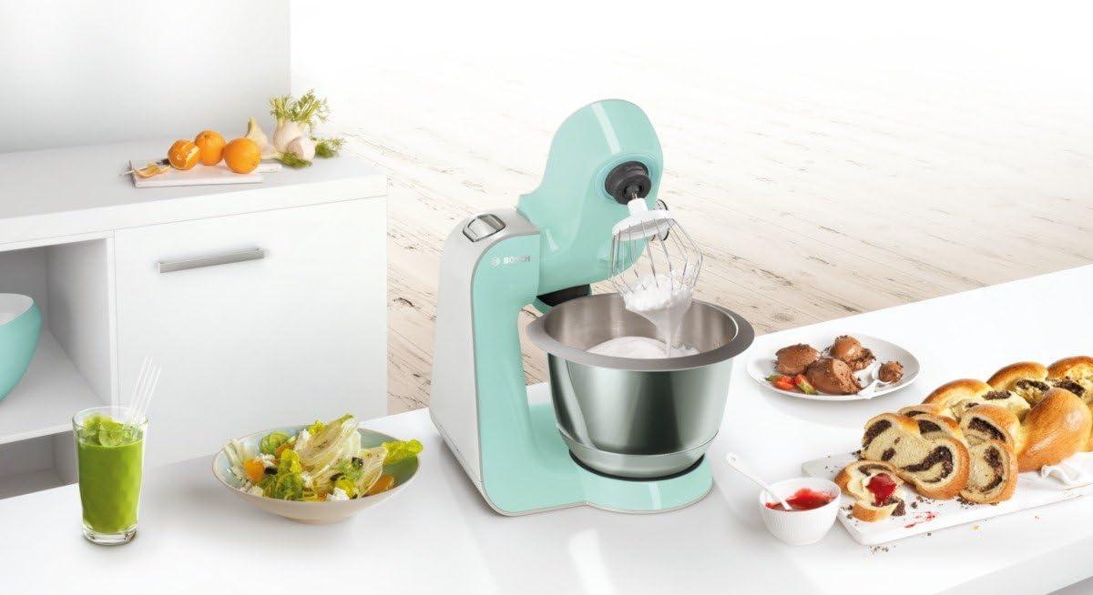 Bosch MUM58020 CreationLine Robot de cocina con accesorios, 1000 W, color menta: Amazon.es: Hogar