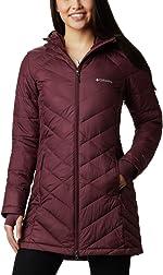 Columbia Womens Heavenly Long Hooded Jacket