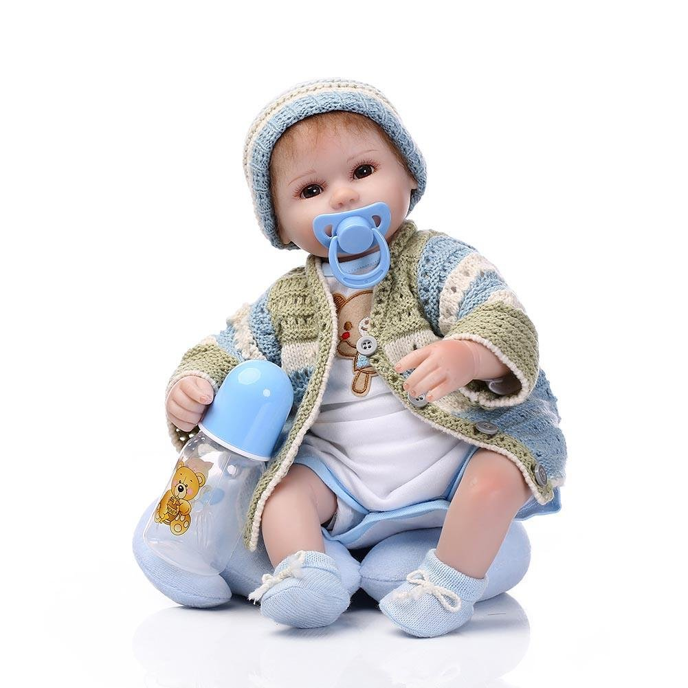 Ecotrumpuk La Bambola Molle del della Bambola di Rinascita di Simulazione Fa Finta i Regali del Giocattolo della Bambola del Gioco