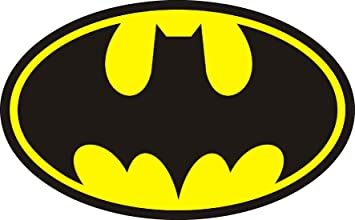 Stickersnews Aufkleber Batman Logo Art Nr 15078 20 Cm Amazon