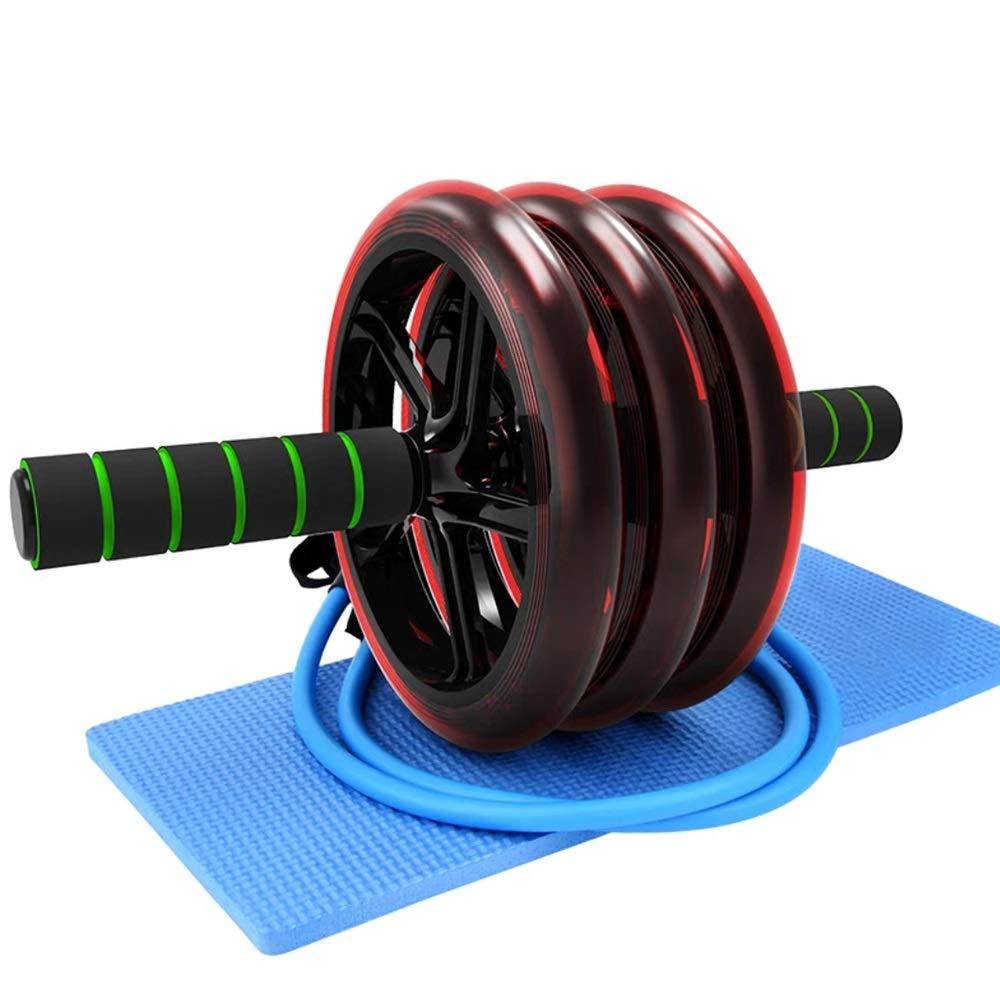 LXZ Homegift-Push up Body Building degli Uomini di Esercizio della Palestra Dell'attrezzatura di Forma Fisica Dell'addestratore della Ruota del Rullo della Ruota di No (Edizione   LXZ01)
