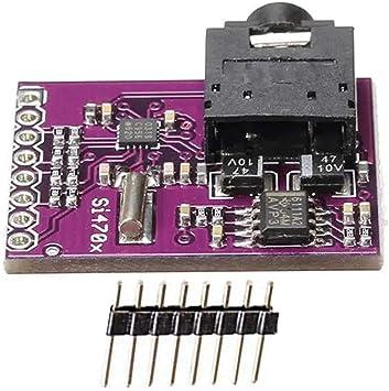 Si4703 FM Tuner Evaluation Board radio tuner RDS RBDS raspberry pi AVR PIC ARM