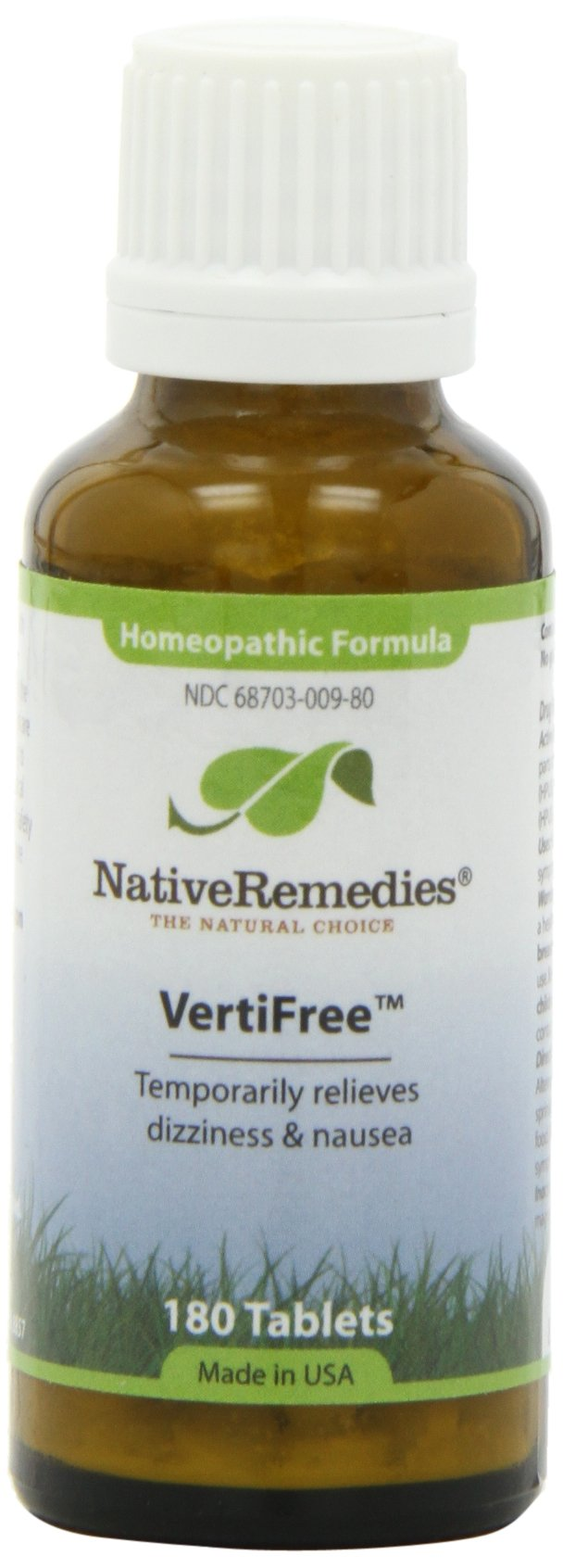 VertiFree Temporarily Relieves Dizziness and Supports Inner Ear Balance