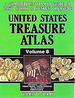 Amazoncom United States Treasure Atlas A Complete State Map - Us map of food volume
