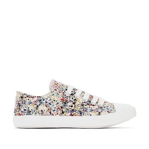 último clasificado color rápido una gran variedad de modelos La Redoute - Zapatillas de Lona para niña multicolor: Amazon ...
