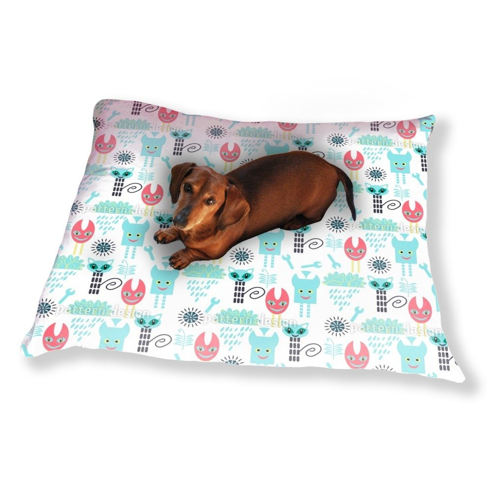 Techno Monsters Dog Pillow Luxury Dog / Cat Pet Bed