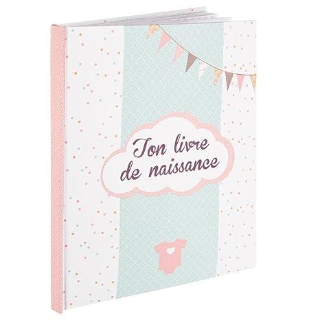 Mon Livre De Naissance Fille Coloris Rose