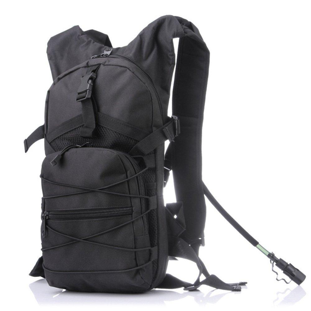 schwarz WuJiPeng Multifunktionale Camo Rucksack Herren Und Damen Outdoor Wandern Rucksack 15L Leichte Bergsteigen Rucksack Oxford Wasserdicht
