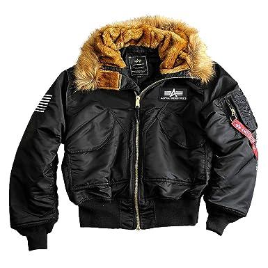 uk availability d6d0e ec39a Alpha Industries Herren Jacken/Winterjacke 45P Hooded Custom
