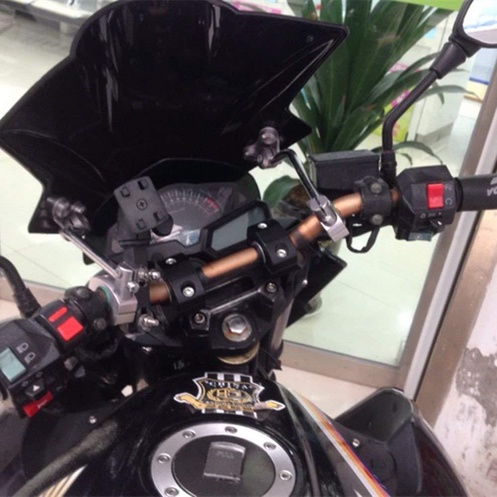 Rehausseurs universels pour guidon de moto PJhao 22 mm//28 mm