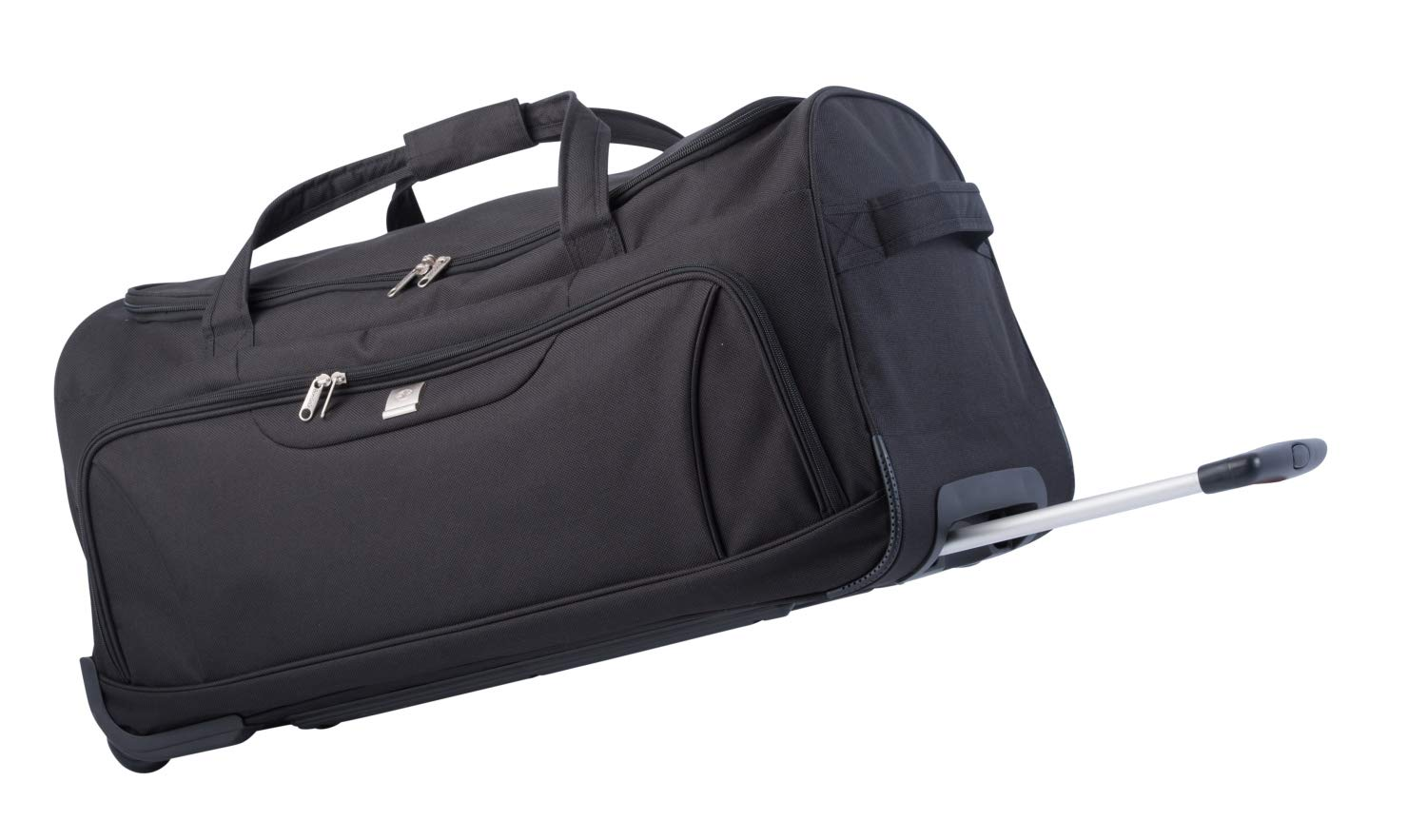 82 Litre Duffel Bag Wheely Travel Bag by Bon Goût, with Wheels and Telescopic Metal Frame and Pull Handle. Padded Main Carry Strap, Front Pocket Fully Lined Inside. Lightweight just 2.5g BG 2012 09