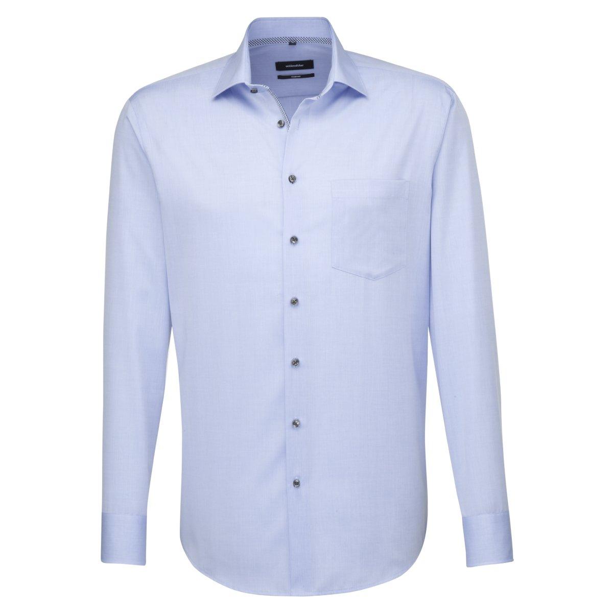 Seidensticker Comfort Bügelfrei, Camisa de Oficina para Hombre