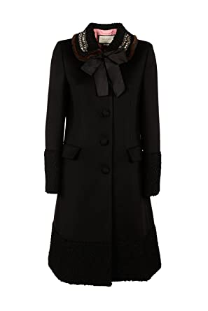 f198ef76b74cd Image Unavailable. Image not available for. Colour  Gucci Women s Wool Coat  Black