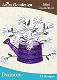 Anita Goodesign Embroidery Designs Cd Daisies