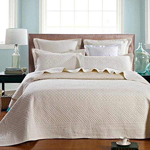 (Calla Angel HQ-OLXF-JMIW Saint Luxury Pure Cotton Quilt, 92