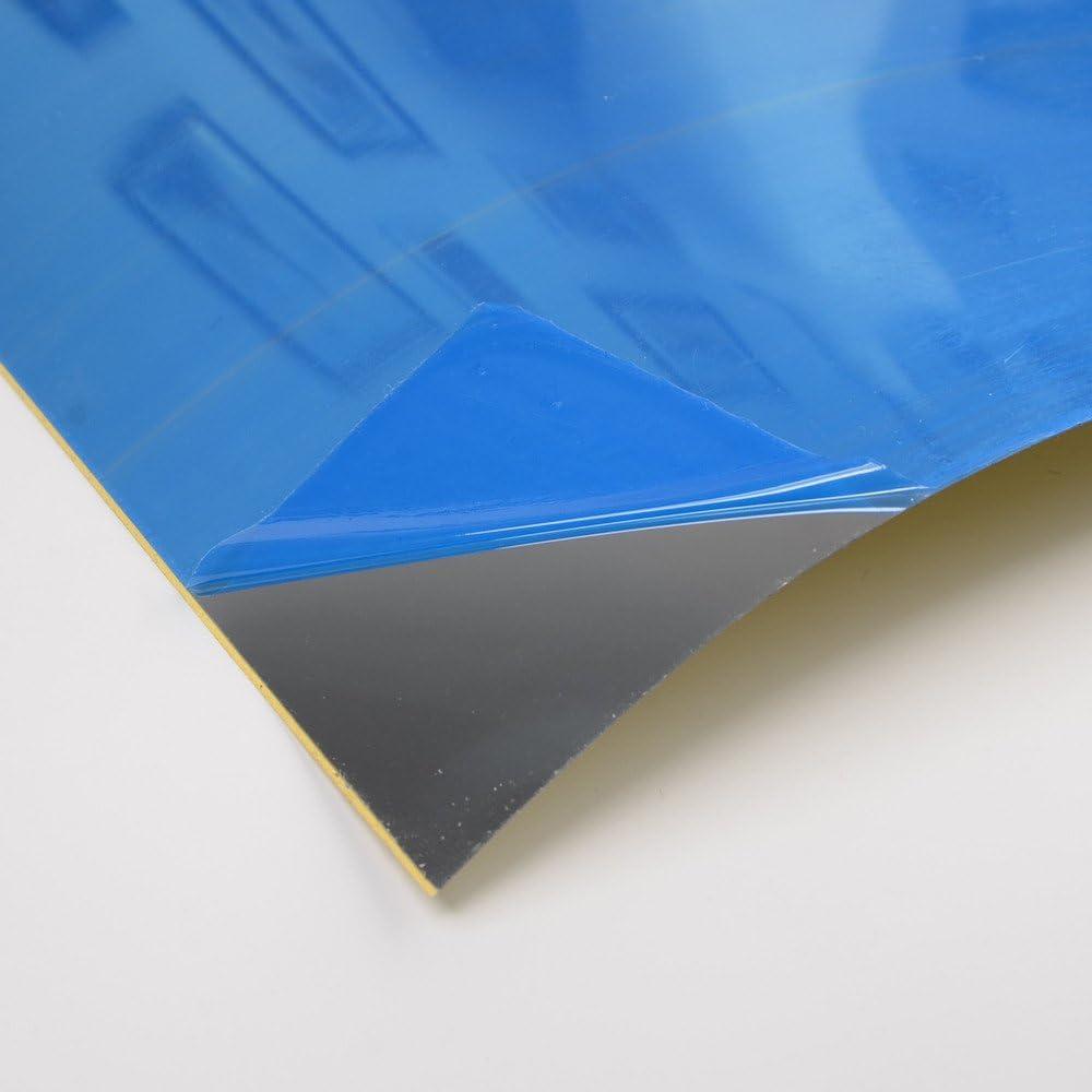 1Roll Mirror Wall Sticker Self-Adhesive Stick Bathroom Room Film Decor 100//200CM
