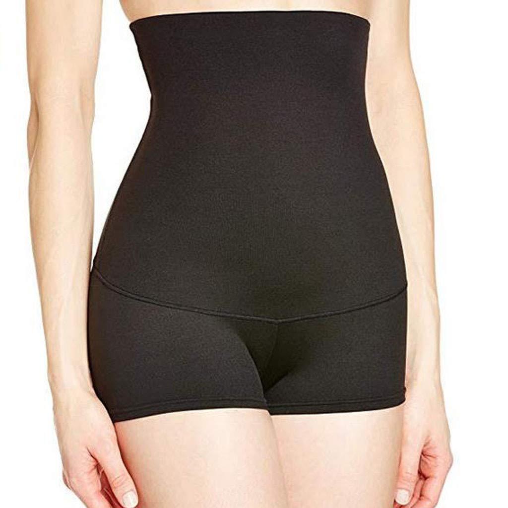 Women's Shapewear Briefs Tummy Control Panties Body Shaper Seamless Shaping Girdle Underwear Black