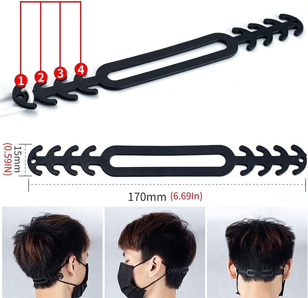 NNNN Mask Extender Anti-Tightening Ear Protector Decompression Holder Hook Ear Strap Accessories Ear Grips Extension Mask Buckle Ear Pain Relieved