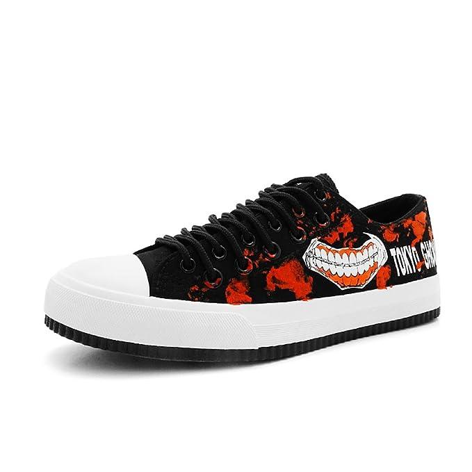 Daiendi adulto Tokio Ghoul zapatos de cordones pintado a ...