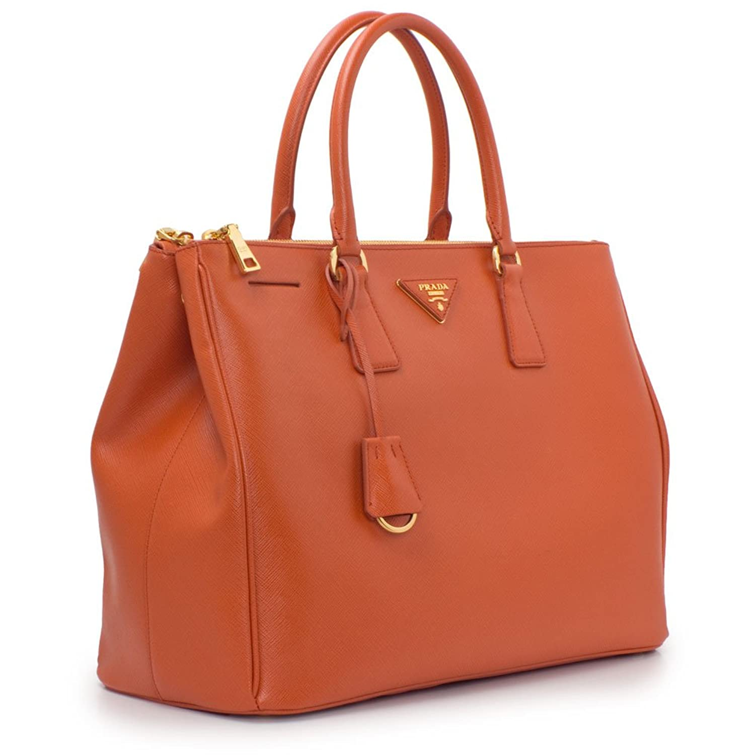 1dd9dadddef5 ... promo code for prada womens papaya orange saffiano lux tote bn1786  handbags amazon 9d3dd 9120a