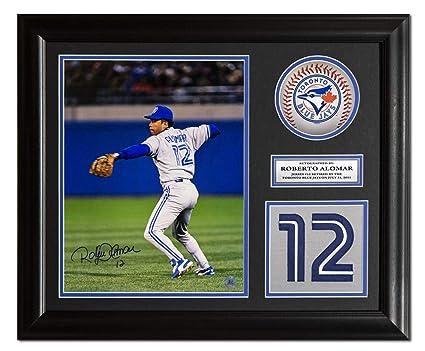 sports shoes 1c833 ef4cf Roberto Alomar Toronto Blue Jays Autographed Signed Retired ...