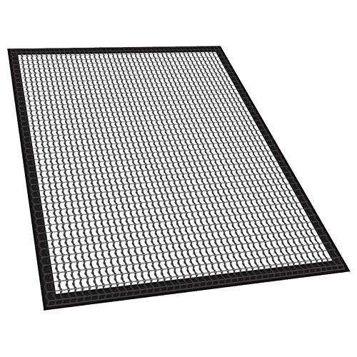 2-Piece Fish and Vegetable Mat for Smoker, 30""