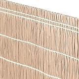 Tenda arella in rafia colore avana 90x300cm decorazioni giardino TARC090300AVA