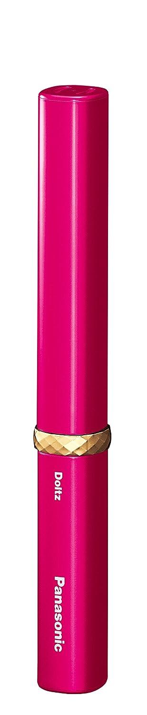 パナソニック 電動歯ブラシ ポケットドルツ 極細毛タイプ ルージュピンク EW-DS1C-RP
