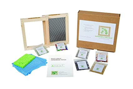Amazon.com: The Classic Paper Making Kit by Wooden Deckle