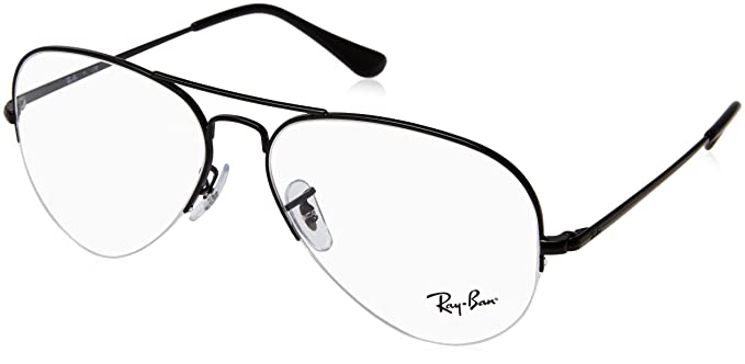 e16c6e1a01 Image Unavailable. Image not available for. Color  Ray-Ban Unisex RX6589 Eyeglasses  Black 59mm