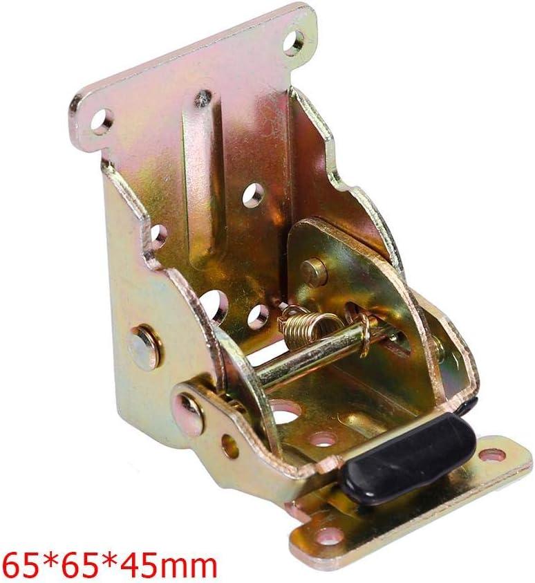 bisagras con freno mesa Starnearby Bisagra plegable de hierro para patas de mesa escritorio silla extensi/ón cierre autom/ático