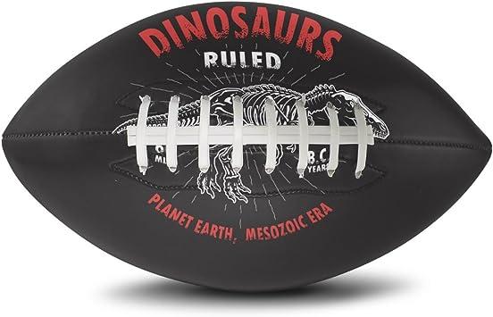 yochoice dinosaurios rayas Rugby tamaño oficial Super Grip de ...