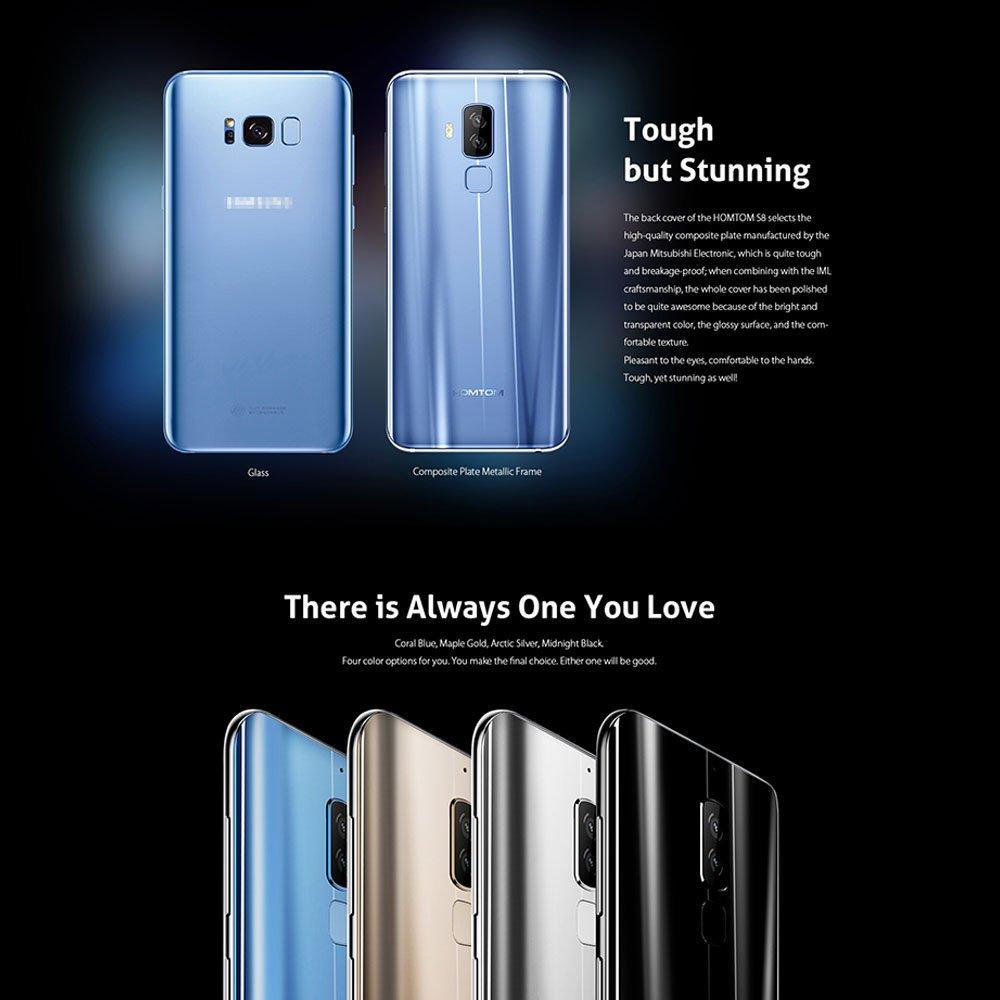 homtom S8 Android 7.0 Teléfono Móvil 4 GB Memoria 64 GB ROM 4 G ...