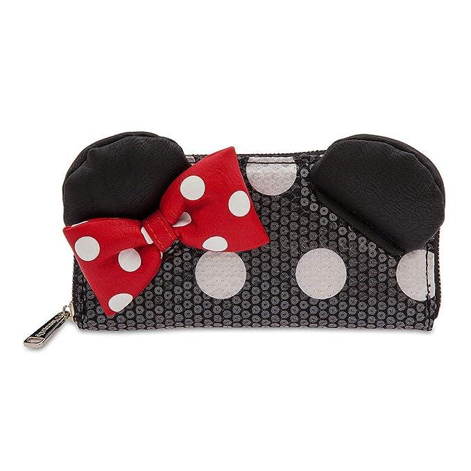 Amazon.com: Loungefly - Cartera con lentejuelas de Minnie ...