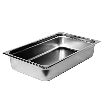 Amazoncom Excellant Steamtable Pan Full Stainless Steel - Commercial steam table parts