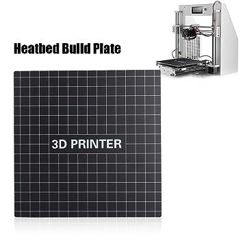 Oumij Impresora 3D Extraíble Placa de Fibra de Vidrio Heatbed ...
