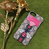 iPhone6/6S/7/8 Plus (Fast US Seller Deliver Guarantee) GU Fashion Graphic Card Slot Style PU Leather Case Apple iPhone 6/6S Plus iPhone 7 Plus iPhone 8 Plus (#84 Bee, iPhone6/6S/7/8 Plus)
