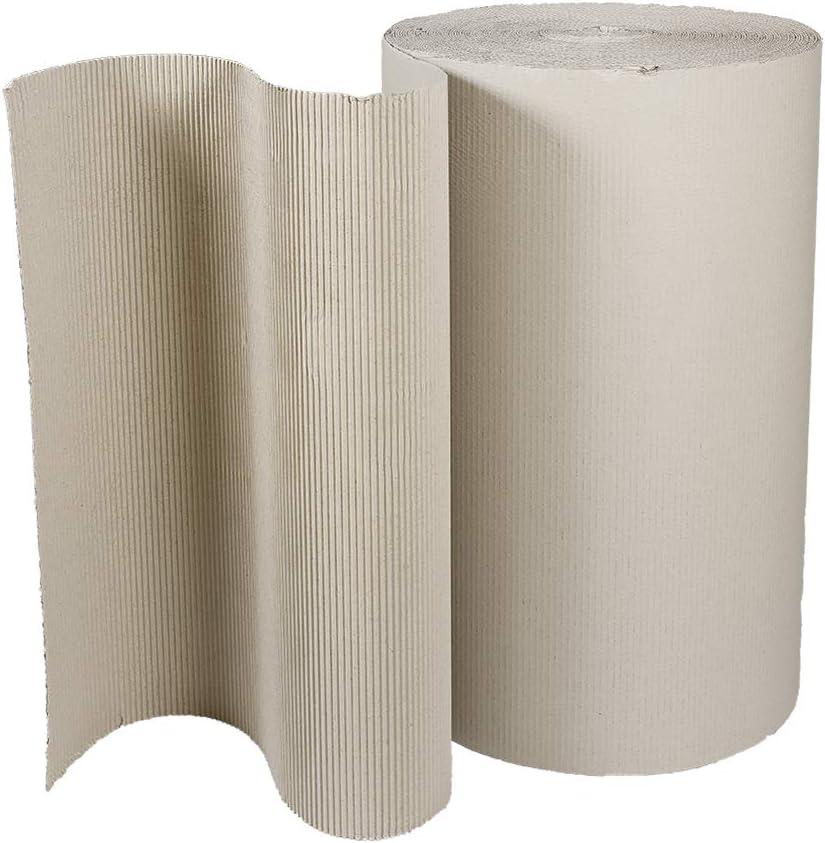10 Rollen Polster Wellpappe Rollenwellpappe 70lfm x 100 cm verschiedene Mengen w/ählbar Grammatur 80g//m/²