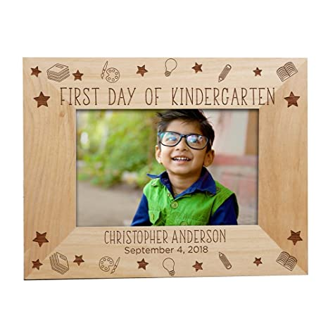 Amazoncom Giftsforyounow Personalized First Day Of School Picture