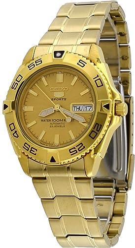Seiko Malla Me Up 5 SPORTS Cuarzo: Batería JAPAN Reloj SNZB26J1: Amazon.es: Relojes