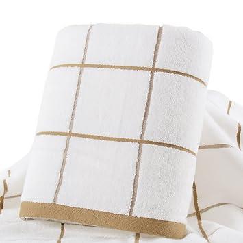 toallas de baño infantiles superior tubo adulto para hombres y mujeres/Creciente espesamiento correa suave pelusa absorbente toallas-B: Amazon.es: Hogar