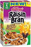 Raisin Bran Kellogg's, Breakfast Cereal, Omega-3 with Flaxseeds, Good Source of Fiber, Bulk Size, 200.2 oz (Pack of 14, 14.3 oz Boxes)