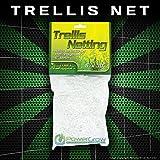 Garden Trellis Netting - 5x15' or 5x30' - Heavy Duty Polyester Garden Net (5x30' Trellis)