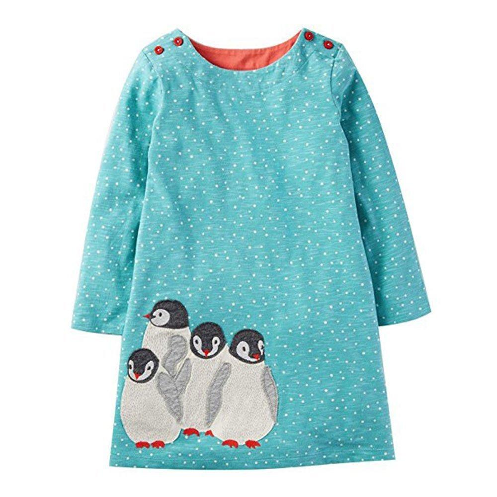 BEILEI CREATIONS DRESS ガールズ 3T ペンギン B073Y5D5C7
