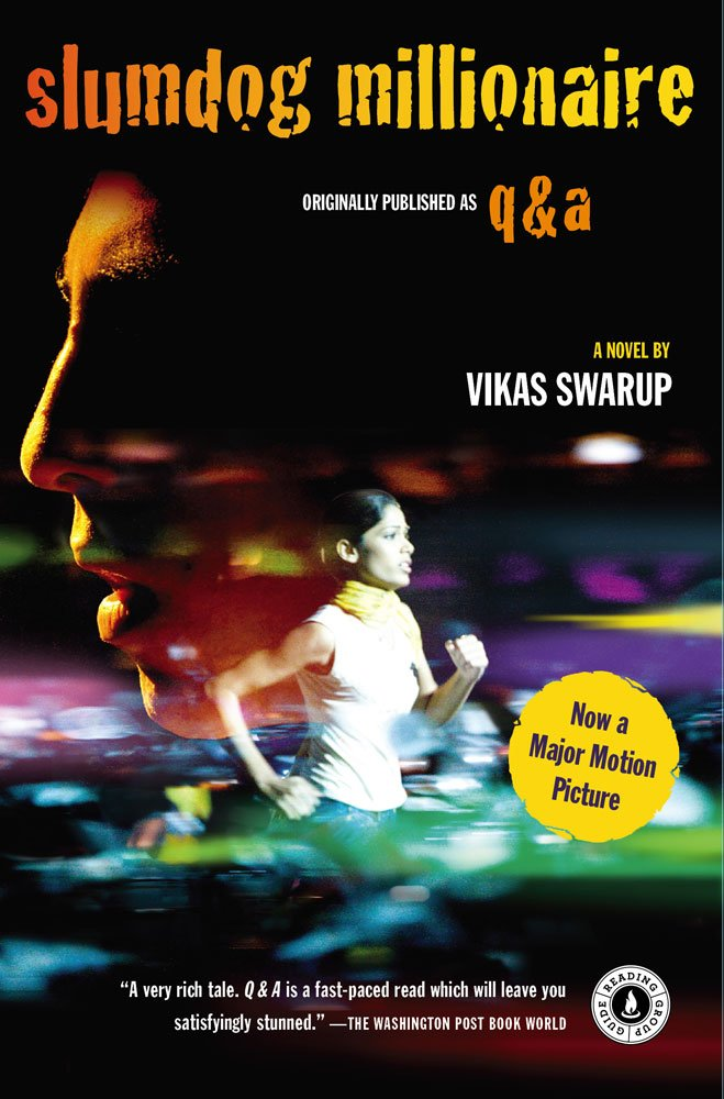 Image result for slumdog millionaire book cover