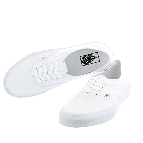 13acb69f3c2ce0 Vans Unisex Pure White Canvas Sneakers (KN-0EE3W00) - (12 UK)  Buy ...